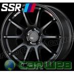 【SSR】 GTV02 (GTV02) 18インチ 7.5J PCD:114.3 穴数:5 inset:48 フラットブラック [ホイール1本単位] [H]