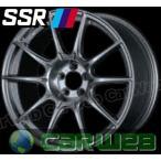 【SSR】 GTX01 18インチ 9.5J PCD:100 穴数:5 inset:45 ダークシルバー [ホイール1本単位]