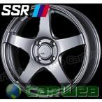 【SSR】 GTV01 16インチ 6.5J PCD:100 穴数:4 inset:42 アッシュシルバー [ホイール1本単位]