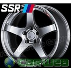 【SSR】 GTV01 18インチ 10.5J PCD:114.3 穴数:5 inset:15 グレアシルバー [ホイール1本単位]