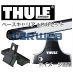 THULE (スーリー) ベースキャリアセット ランドローバー フリーランダー2 ルーフレールなし ...