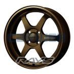 [ホイールのみ単品4本セット]RAYS / VOLK RACING TE37 KCR BZ EDITION (BZ) 15インチ×5.0J PCD:100 穴数:4 インセット:45
