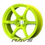 【本数限定】 [ホイール1本(単品)] RAYS / gram LIGHTS 57C6 (KY) 18インチ×9.5J PCD:114.3 穴数:5 インセット:12