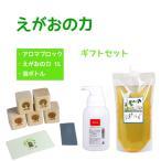 植物油由来成分からできた濃縮自然派洗剤「えがおの力 ギフトセット」