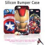 【Avengers / アベンジャーズ】iPhone6 iPhone6s / iPhoneSE 5 5s 対応 Avengers MARVEL Silicon Bumper Case【 iphone 6 plusケース アイアンマン】