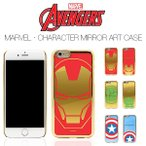 【Avengers / アベンジャーズ】iPhone6 6s / iPhoneSE 5 5s 対応 Avengers MARVEL Character mirror art case【iphone 6 plusケース アイアンマン 】
