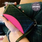 手帳型 ケース iPhone対応 iPhone X ケース iPhone8 iPhone7 フェイクレザー フリップ 大人かわいい フェイクレザー
