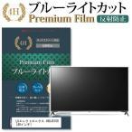 LGエレクトロニクス 49UJ6100 強化ガラス と 同等の 高硬度9H ブルーライトカット 反射防止 液晶TV 保護フィルム