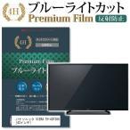 パナソニック VIERA TH-43F300 (43インチ) 機種で使える  強化ガラス と 同等の 高硬度9H ブルーライトカット 反射防止 液晶TV 保護フィルム