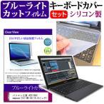 パソコン工房 AEX-DACompose-15I-HD-SS[15.6インチ]ブルーライトカット 指紋防止 液晶保護フィルム と キーボードカバー