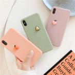 iPhone ケース カバー 7 8 Plus X XS XR XSMax 11 pro promax SE2 アボカド ピーチ オレンジ くだもの 果物 フルーツ グリーン ピンク