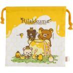 リラックマ はちみつの森の収穫祭テーマ 巾着 CU30201