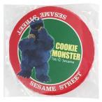 セサミストリート 缶バッチ54mm クッキーモンスター [151663] ラッピング不可