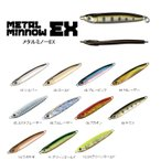 スミス メタルミノーEX CHグリーンゴールド 12