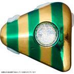 ダイワ 紅牙遊動テンヤプラスヘッド 15号 金/ゼブラグリーン