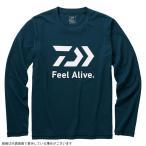 ダイワ DE-82009 ロングスリーブ FEEL Alive.Tシャツ リバーブルー M