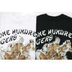 サンサーフ SS72029 ONE HUNDRED TIGERS バック発泡プリント半袖Tシャツ