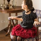 子供ドレス ローウエストイングリッシュローズワンピース 結婚式 発表会 120-160cm