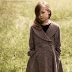 子供服 女優襟ツイードドレスコート 女の子  キッズ ジュニア フォーマル 120 130 140 150 160 cm