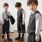 男の子ベストスーツ4点セット[ベスト/ズボン/シャツ/ネクタイ]   キッズ 男児 110-130cm FRSP