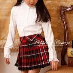 女の子ブラウス スムースフリルブラウス 子供 フォーマル 卒業式 入学式 子供服 100-165cm [YUP6]