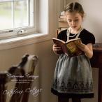 子供ドレス 女の子 アリスフロッキープリントのベロアワンピース 子供服 フォーマル 110 120 130 140 七五三 卒業式 ONB FC 期間限定セール