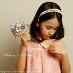 子供アクセサリー パールカチューシャ ヘアアクセサリー  女の子 子ども用カチューシャ