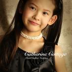 子供用パールチョーカーネックレス ドレスやワンピースに フォーマル FRSP