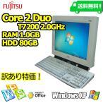 【訳あり】【FUJITSU 一体型 15型/1.0GB/80GB/CD/XP】