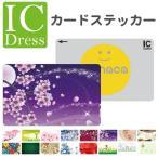 ICカード ステッカー シール スイカ パスモ Edy バラ 薔薇 花柄 和柄 春 桜 日本 JAPAN ペイズリー