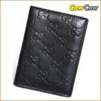 グッチ GUCCI メンズ 名刺入れ カードケース グッチシマ レザー ブラック 146230-2091