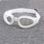 定形外郵便配送 レジャー用子供用ゴーグル スキー・スノーボード・サイクリングに  めがね メガネ 眼鏡 ホワイト×ホワイト