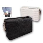 メンズセカンドバッグ クロコ型押し クラッチバッグ 紳士用 財布 ポーチ 紳士用 男性用 定形外郵便 送料無料
