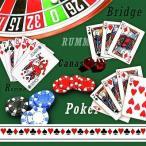 Ambiente オランダ ペーパーナプキン カジノ CASINO 13308080 バラ売り2枚1セット デコパージュ ドリパージュ