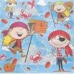 Daisy ポーランド ペーパーナプキン 海賊 piraci バラ売り2枚1セット SDOG-012501 デコパージュ ドリパージュ