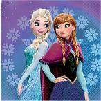 2枚1セット アナと雪の女王 FROZEN MAGIC 511619 ディズニー アメリカ MADE IN USA ペーパーナプキン 紙ナフキン 2枚重ね