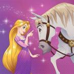 1枚バラ売りペーパーナプキン ディズニープリンセス DisneyPrincess ラプンツェル RAPUNZEL DREAM BIG アメリカ製 MADE IN USA デコパージュ ドリパージュ