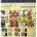 ����ե��å�45 Graphic 45 MADE IN USA�������åɥե Floral Shoppe 8