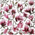 かわいいペーパーナプキン Magnolia モクレン 211618 デコパージュなどのハンドメイドに