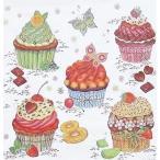 期間限定セール Maki ポーランド ペーパーナプキン Party Cupcakes バラ売り2枚1セット S