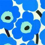 マリメッコ Marimekko ペーパーナプキン Lunch napkins UNIKO blue ウニッコ ブルー 2枚 北欧 L-552640