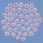マリメッコ Marimekko ペーパーナプキン PUKETTI プケッティ 花束 light blue  2枚 北欧 L-575749 デコパージュ