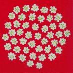 マリメッコ Marimekko ペーパーナプキン PUKETTI プケッティ 花束 white red  2枚 北欧 L-575791 デコパージュ