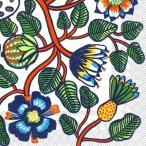マリメッコ Marimekko ペーパーナプキン TIARA orange 2枚 北欧 L-606017 デコパージュ ドリパージュ