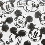 2枚1セット ディズニー Disney ミッキーマウス フェイスリピート ペーパーナプキン 紙ナフキン 3枚重ね デコパージュ ドリパージュ
