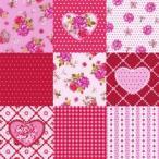 nouveau オーストリア ペーパーナプキン Rosy Heart 74461 バラ売り2枚1セット デコパージュ ドリパージュ