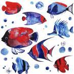 Paper+Design ドイツ ペーパーナプキン トロピカルフィッシュ 熱帯魚 Tropical  ...