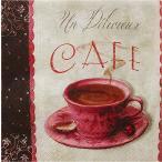 1枚バラ売りペーパーナプキン Paw ポーランド コーヒー ミーティング Coffee Meeting SDL085700 デコパージュ ドリパージュ