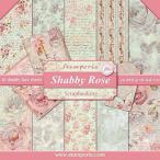 ������ڥꥢ Stamperia �����ꥢ ξ���� �ڡ��ѡ����å� 30.5x30.5cm SBBL12 ����ӡ����� Shabby Rose ������åץ֥å��� ���顼����