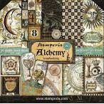 ������ڥꥢ Stamperia �����ꥢ ξ���� �ڡ��ѡ����å� 30.5x30.5cm SBBL34 ϣ��� Alchemy ������åץ֥å��� ���顼����